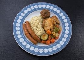 COUSCOUS ROYAL - La part